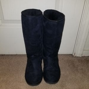 (SOLD) Justfab black boots size 6